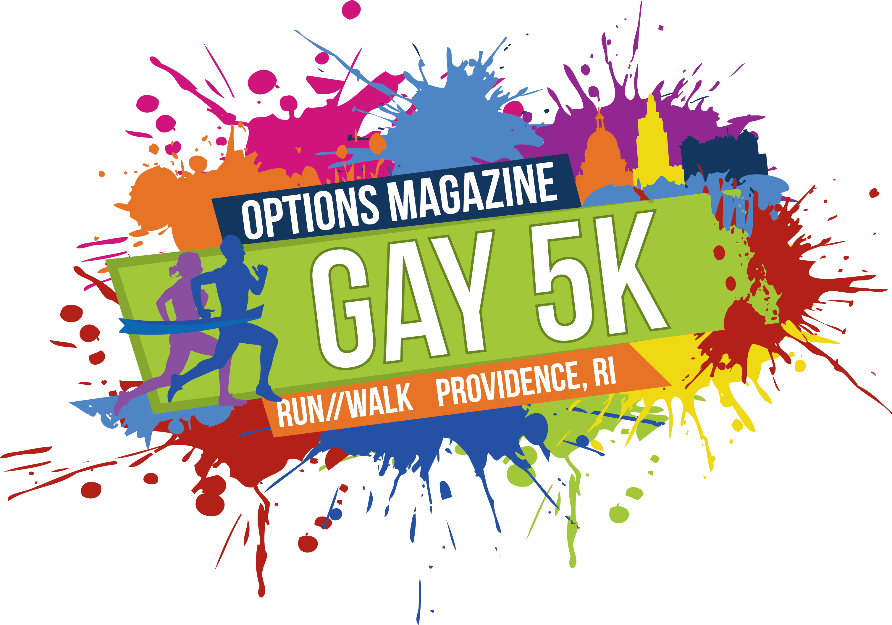 The Gay 5K Logo