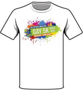 Gay 5K race tshirt